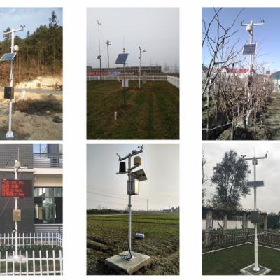 JL-03小型自动气象站测量风速风向雨量温湿光照