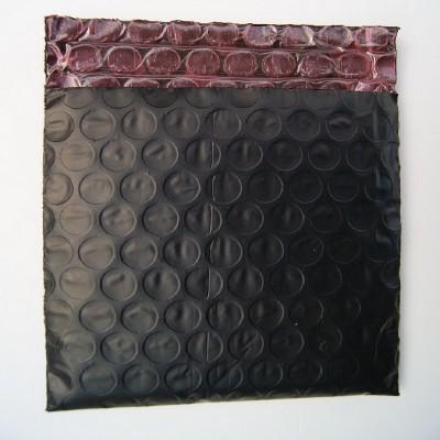 全国包邮黑色导电膜复红色防静电信封汽泡袋厂