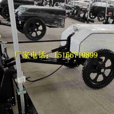 手扶小型混凝土激光摊铺机手扶式地坪摊铺机水泥路面自动平地机