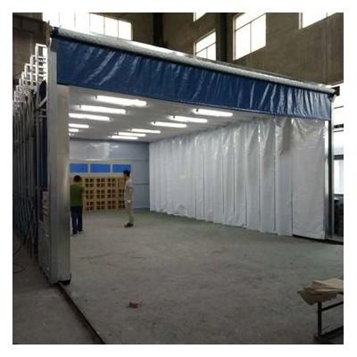 环保移动伸缩喷漆房的特点及应用范围