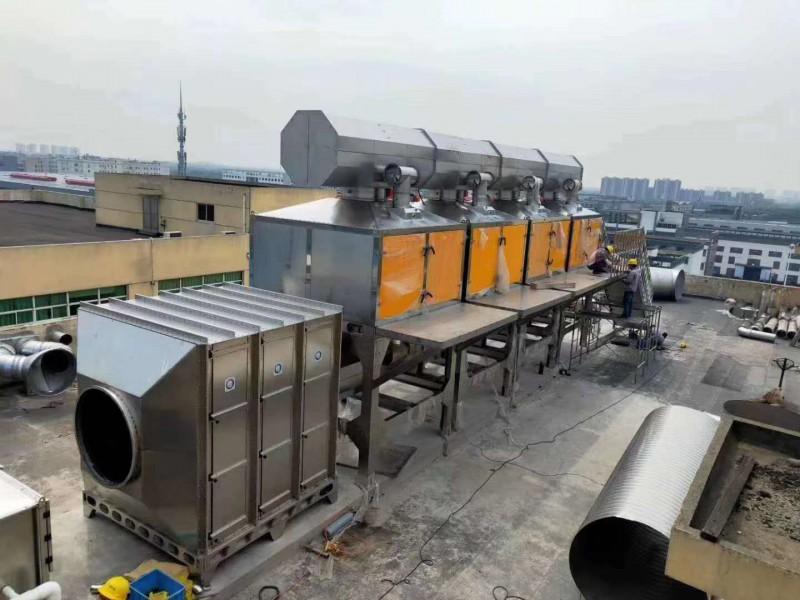 催化燃烧废气处理设备价格技术说明