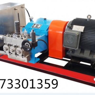 昆明市3D-SY系列电动试压泵安装使用方法