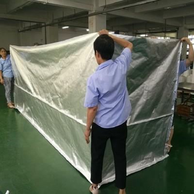 厂家直销五面立体大铝箔袋 抽真空机械铝箔包装袋