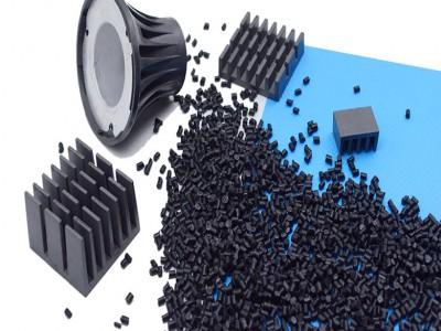 东莞导热塑料5.0W高导热黑色尼龙易成形优于一般铝压铸件